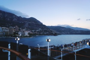 Cunard Monte Carlo cruise port view