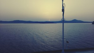 Cunard cruise to Turkey views