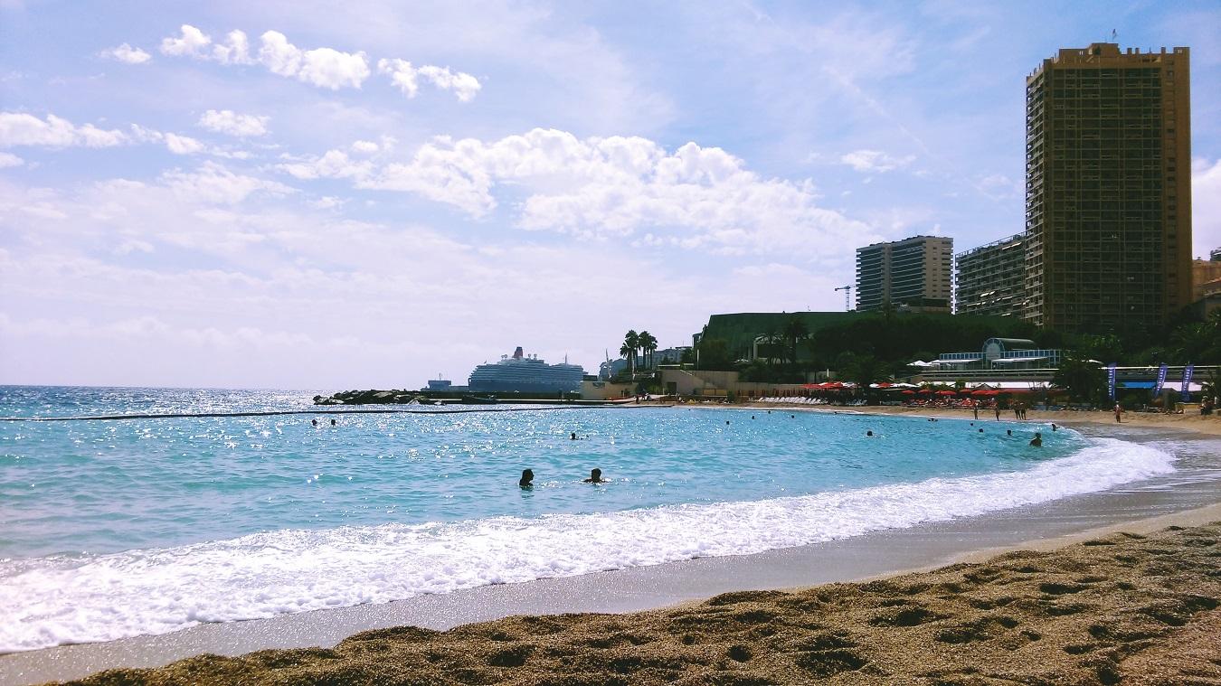 Monte Carlo beach view cruise