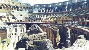gladiators training in rome