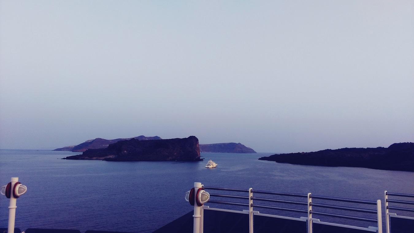 santorini atlantis island