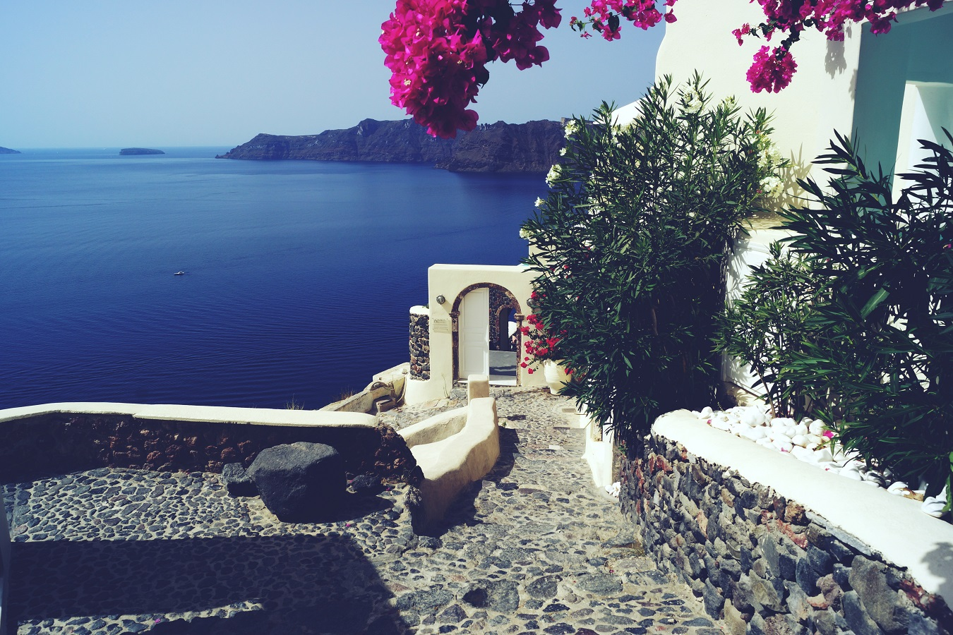 santorini plan our dreams