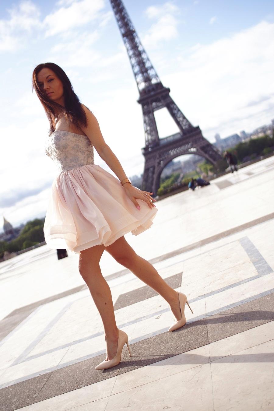 fashion week paris  high heels