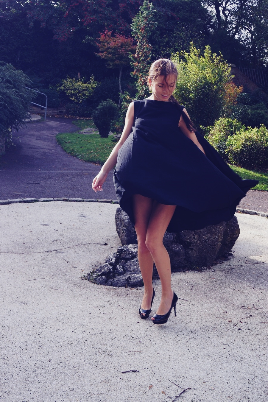 secret garden black dress