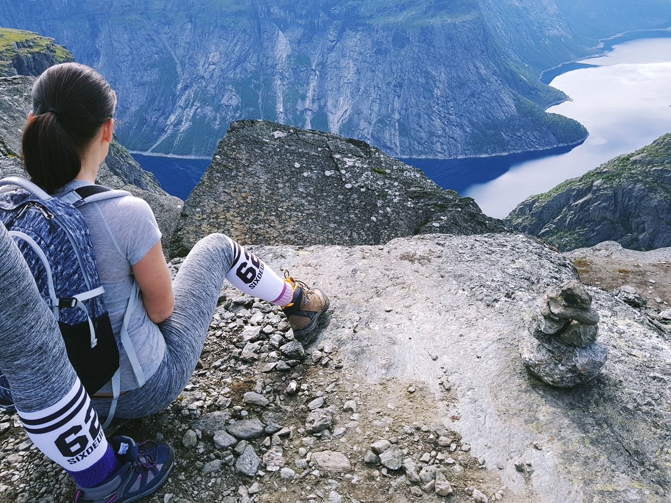 norway hike trolltunga beautiful