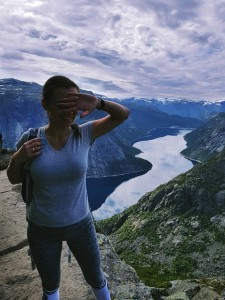 norway hike trolltunga is quite high