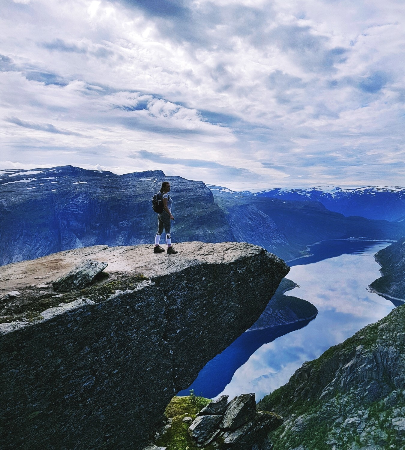 trolltunga hike in norway