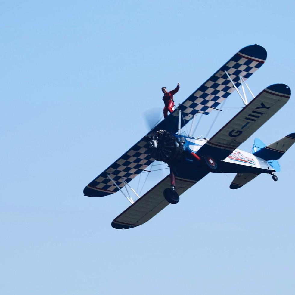 wing walking extreme sports