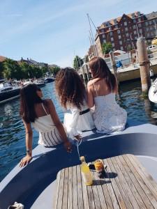 Copenhagen by boat cruise