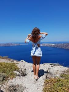 holiday excercise santorini london blogger